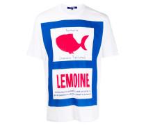 """T-Shirt mit """"Normandie""""-Print"""