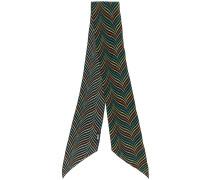 printed skinny scarf