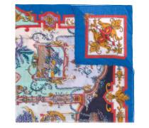 Kaschmirschal mit grafischem Print