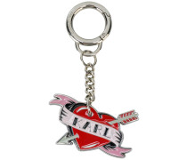 Captain Karl Heart keyring