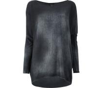 Pullover mit ausgeblichenem Effekt