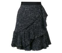 sparkle bouclé skirt