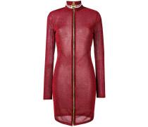 Lurex-Kleid mit Reißverschluss