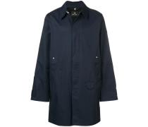 Mantel mit spitzen Kragen