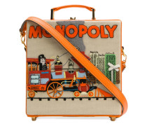 'Monopoly Train' Clutch