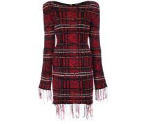 Kurzes Tweed-Kleid