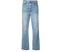 Taillenhohe Jeans mit geradem Bein