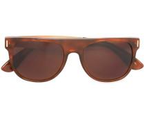 'Flat Top Francis Leopard' Sonnenbrille