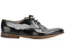 Derby-Schuhe mit Einsatz
