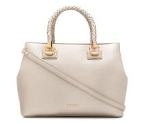 Handtasche mit geflochtenen Riemen