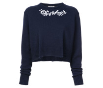 """Pullover mit """"City of Angels""""-Print"""