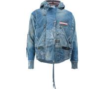 'Snorkel' Jeans-Fliegerjacke