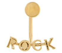 """Ohrstecker mit """"Rock""""-Motiv"""