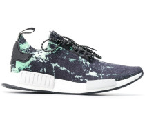 Marmorierte 'NMD R1' Primeknit-Sneakers