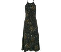 dust print midi dress