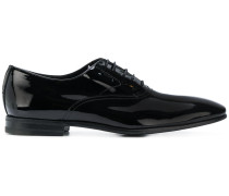 slick lace-up derby shoes