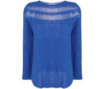 sheer-panel jumper