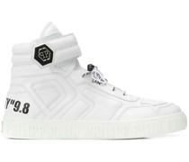 Statement hi-top sneakers