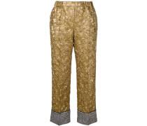 Hose aus Brokat