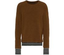 Pullover mit Kontraststreifen