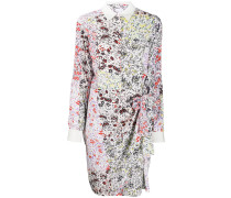 Hemdkleid mit Blumenmuster