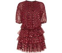 Kleid mit Rüschenrock