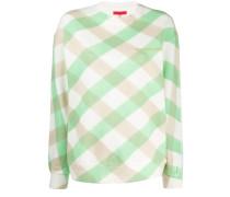 Kariertes 'Lattice' Sweatshirt