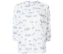 Hemd mit Libellen-Print