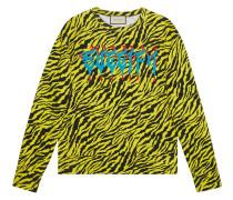 "Sweatshirt mit ""Guccify""-Print"