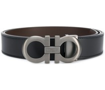 Gancini buckle belt