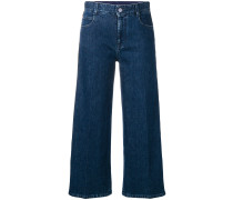 'SM' Cropped-Jeans