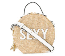 sexy patched crossbody bag