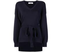 Pullover mit Gürtel