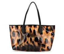 Shopper mit Leoparden-Print