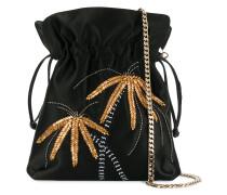 metal palm tree shoulder bag