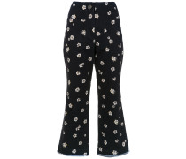 Floral Bangkok culottes trousers
