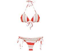 Bikini mit Streifen