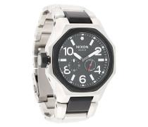 Achteckige Armbanduhr