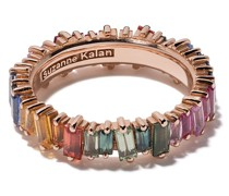 18kt 'Eternity Rainbow' Rotgoldring
