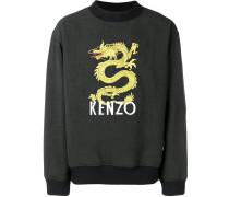 Pullover mit Drachen-Patch