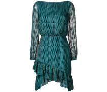 Kleid mit Dreiecksmuster