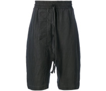 Seiden-Shorts mit lockerem Schnitt