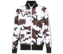 Bomberjacke mit Camouflage-Print
