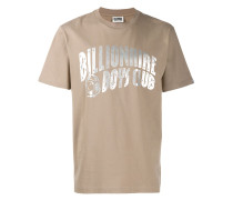 T-Shirt mit Metallic-Logo