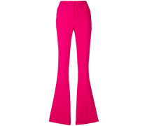 flared fitted trousers