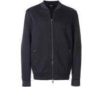 slim fitted bomber jacket