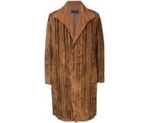 Mantel mit texturierten Streifen