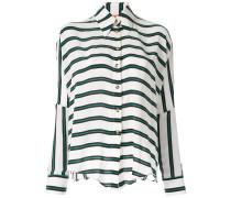 Weites 'Elemental Stripe' Hemd