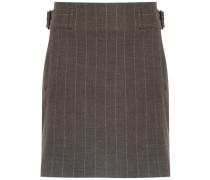 side buckles straight skirt