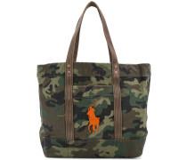 Handtasche mit Camouflage-Print